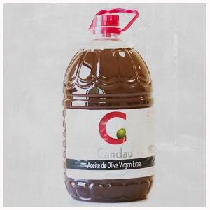 Garrafa 5 litros aceite Candau